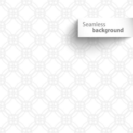 white wave: Seamless white wave geometric texture. Vector illustration