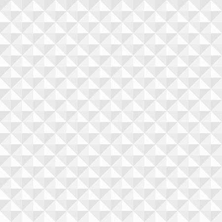 Witte geometrische vierkante naadloze achtergrond Vector illustratie Stock Illustratie
