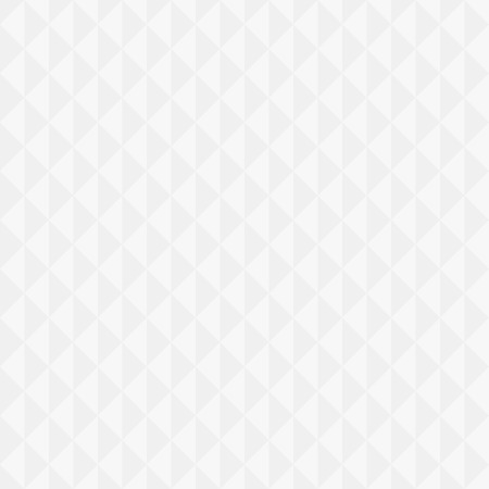 White geometric triangular seamless background  Vector illustration