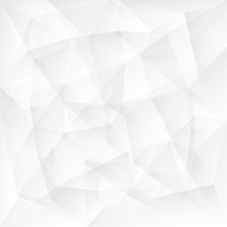 Soyut beyaz üçgen çokgen arka plan Vektör illüstrasyon Çizim