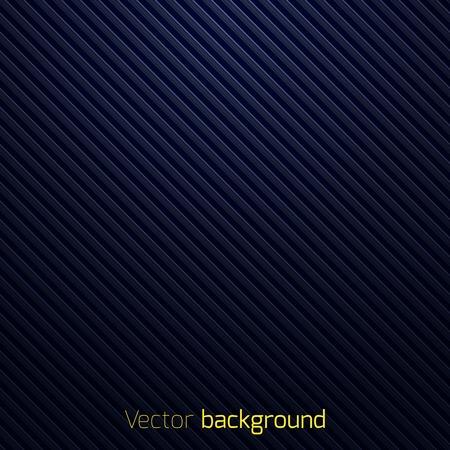 Abstraktní tmavě modré pruhované pozadí vektorové ilustrace Ilustrace