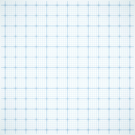 Blue square grid on white background. Vector illustration
