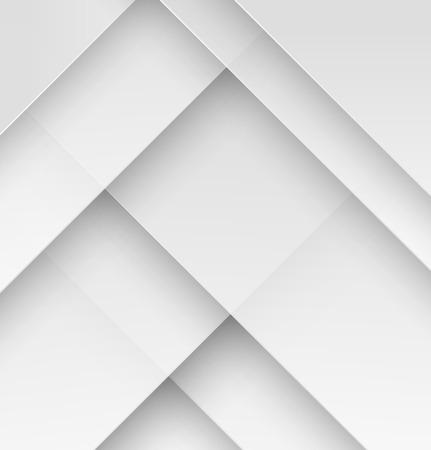 추상: 그림자와 흰 종이 소재 디자인 벽지. 벡터 일러스트 레이 션