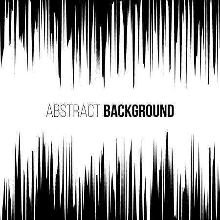 Abstract comic book black and white explosion vertical speed lines background. illustration Vectores