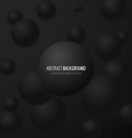 3d fondo negro Resumen ámbito realista. ilustración Foto de archivo - 56755997