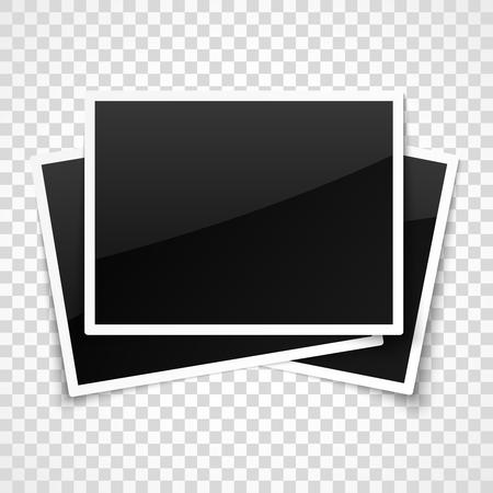 Marcos vacíos en el fondo a cuadros transparente. Foto de archivo - 62768593