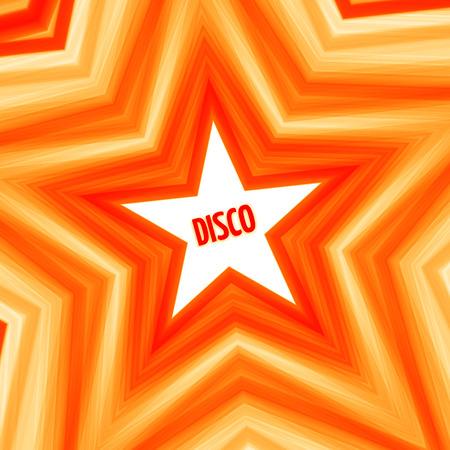 Disco star background Vectores