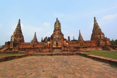 Wat Chaiwatthanaram, Ayutthaya, Thailand.