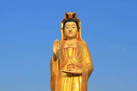 Kuan Yin  Thep the holy angels Stock Photo - 11587175