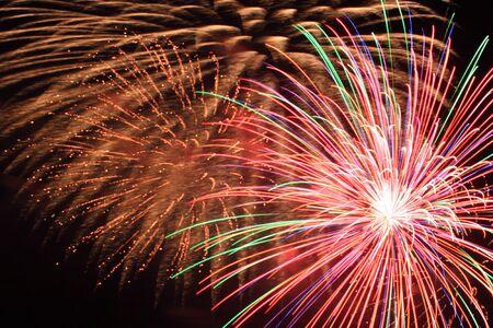 Firework festival Stock Photo