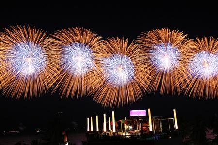 Firework festival photo