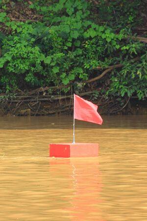 salvavidas: Salvamento y Socorrismo bandera Foto de archivo