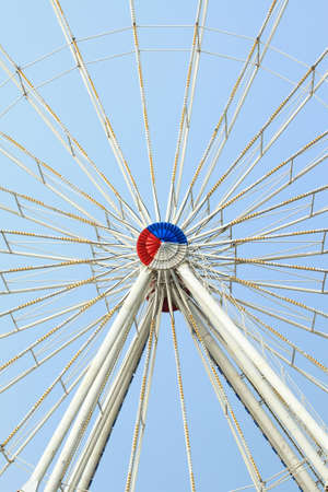 close up of iron wheel Stock Photo