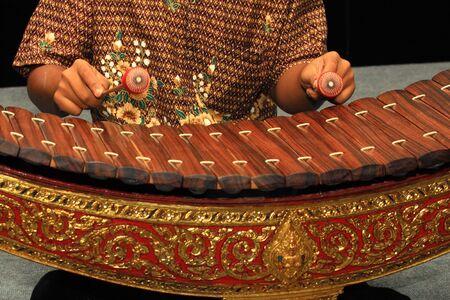 Thailand Xylophone Stock Photo