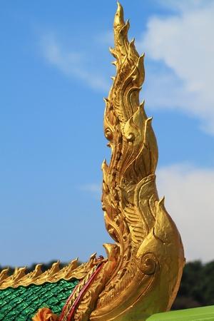 Thai temple sculpture