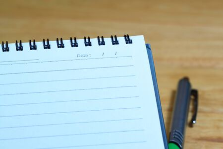 blank realistic spiral notebook Stock Photo - 17500198
