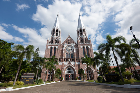 Myanmar Saint Mary's Cathedral is a largest Catholic cathedral in Myanmar located on Bo Aung Kyaw Street in Botahtaung Township,Yangon.