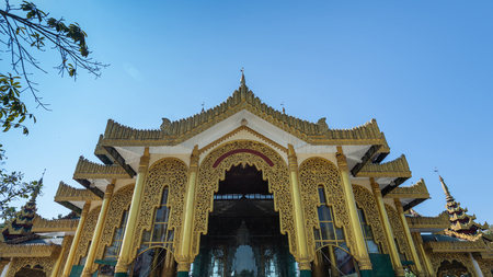 Kyauktawgyi Pagoda is a Buddhist pagoda located in Amarapura on top of Mindhama Hill near Yangon airport is known for its enormous Buddha image made out of a single piece of white marble