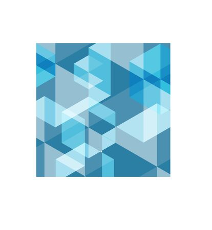Blue Abstract mosaic pattern for backdrop  design