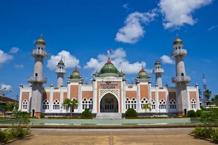Pattani central mosque thailand photo