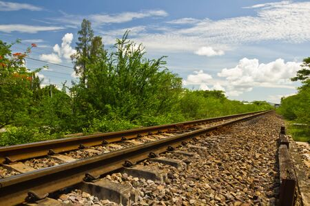 railway tracks photo