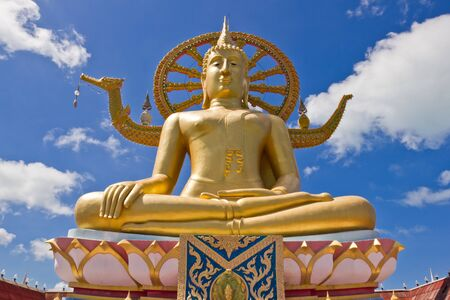 Big Buddha Statue in Koh Samui, Thailand Stock Photo - 13877432