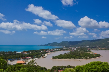 viewpoint of chaweng  koh samui,thailand