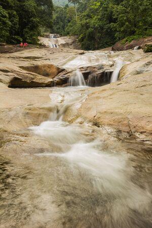 Phromlok Waterfall at khao luang National Park, Southern Thailand Stock Photo - 15823380