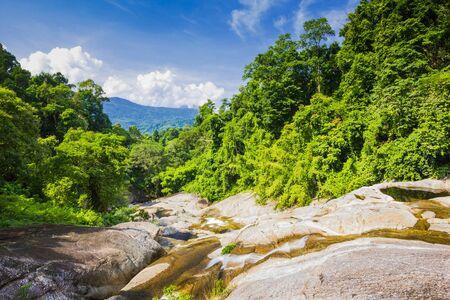 Karome Waterfall at khao luang National Park, Southern Thailand Stock Photo - 15847673