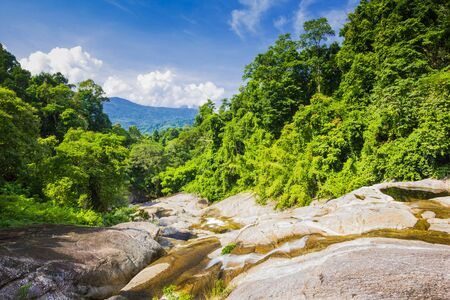 Karome Waterfall at khao luang National Park, Southern Thailand Stock Photo - 15847673