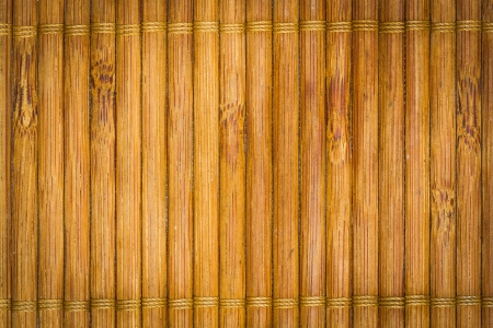 Wood texture is bamboo plate background photo