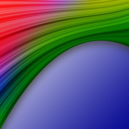 multi media: elegant colorful swath abstract background Stock Photo