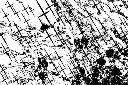 Grunge textures with overlay line effect, Vector background illustration Иллюстрация