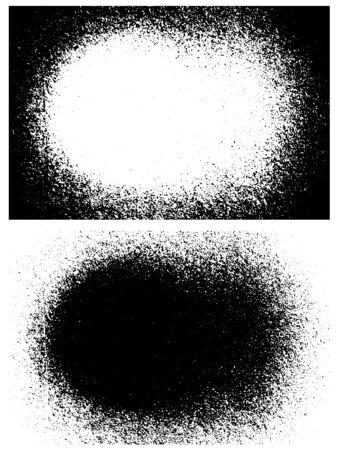 grunge frame: Grunge frame background, Vector illustration Illustration