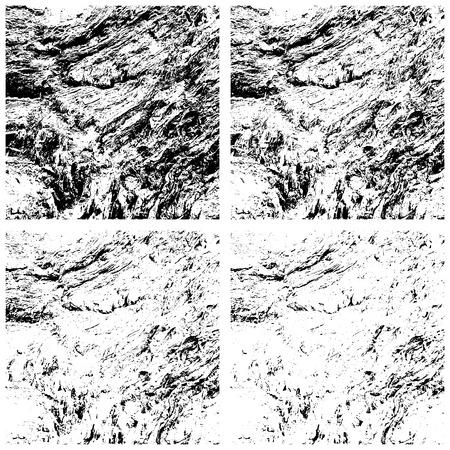 creative arts: Grunge textures set, Vector background illustration Illustration