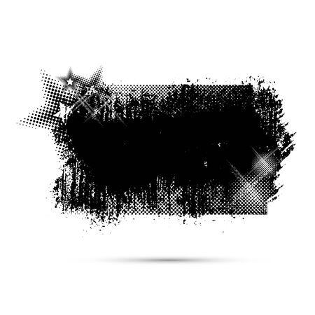 grunge frame: Grunge frame background, Vector illustration EPS 10