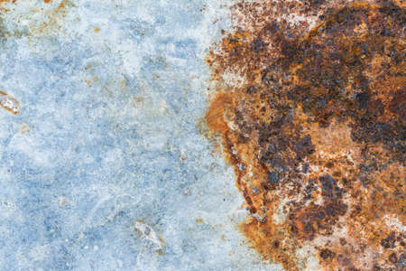 rusted background: Grunge texture of rusted galvanized iron plate background