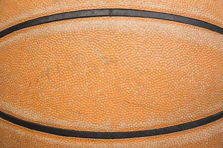 gym ball: Close up of old basketball leather texture background