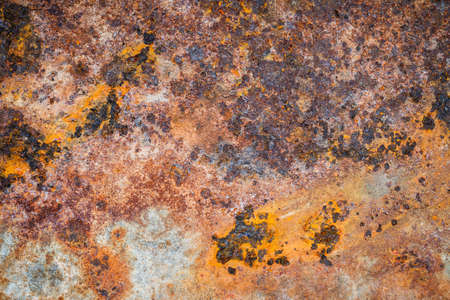 rust metal: Grunge texture of rusted galvanized iron plate background