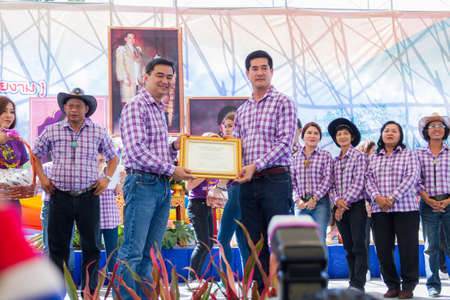 "PRACHUAP KHIRI KHAN, THAILAND - DECEMBER 12 : Fair of competition the animals ""Livestock Show 2015"" on December 12, 2015 in Pranburi, Prachuap Khiri Khan, Thailand"