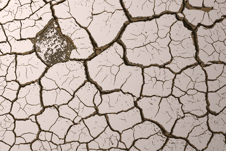 cracked earth: Grunge texture dry cracked earth background