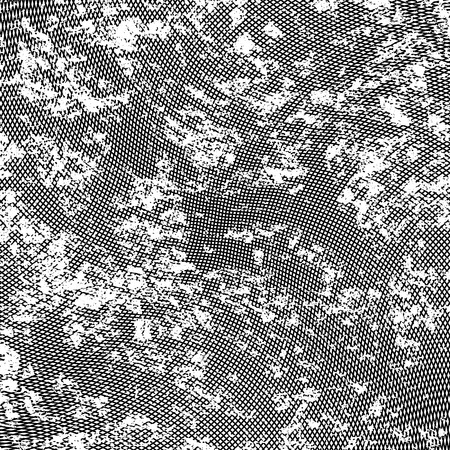 Grunge tekstury z efektem linii paska nakładki fali