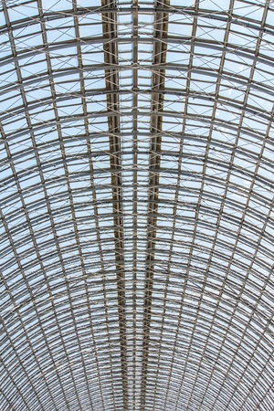Glass Roof in GUM Moscow photo