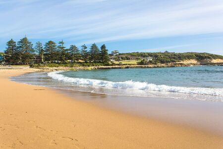 bondad: La playa en el sur de Austalia Foto de archivo