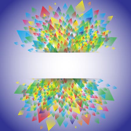 rhomb: Colorful background geometric pattern design, vector illustration