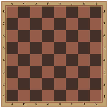 Chessboard or checkerboard isolated flat vector icon