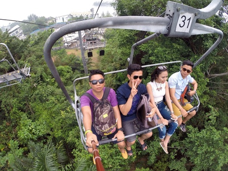 luge: One is not enough at sentosa luge and skyline