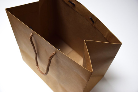 A paper bag for shopping