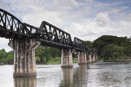 Historical  River Kwai Bride; Thailand Stock Photo