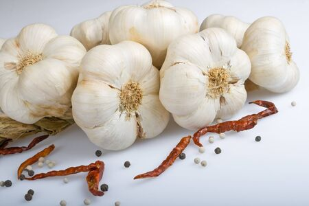 alliaceae: Garlic with chilli